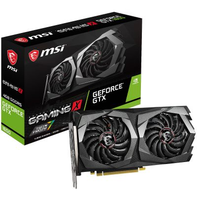 MSI GeForce GTX 1650 GAMING X 4Go 1
